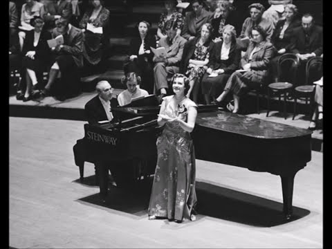 Kathleen Ferrier. An die Musik. Schubert. To Music. Contralto.