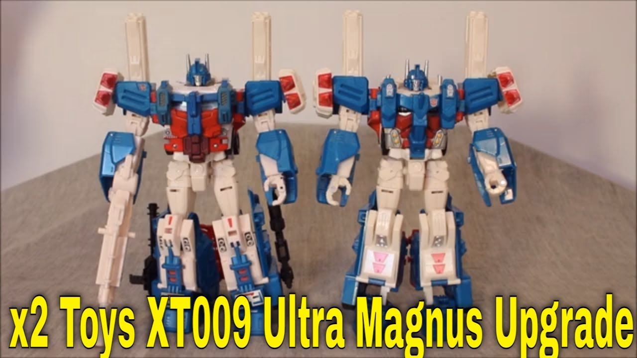 End of My Ideal Magnus Journey: X2 Toys XT009 Combiner Wars Magnus Upgrade Set by GotBot