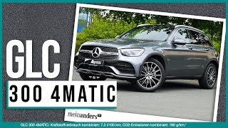 Der neue Mercedes-Benz GLC 300 4matic 2019 //Die Anders Testfahrt