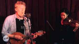 "Glen Hansard performing ""Lowly Deserter"" Live at KCRW's Apogee Sessions"