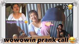 Wowowin prank call | kay mommy😂 |Lt grabee😂