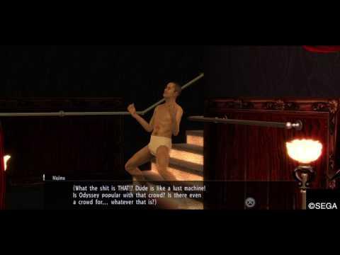 YAKUZA 0 crazy pervet dance machine