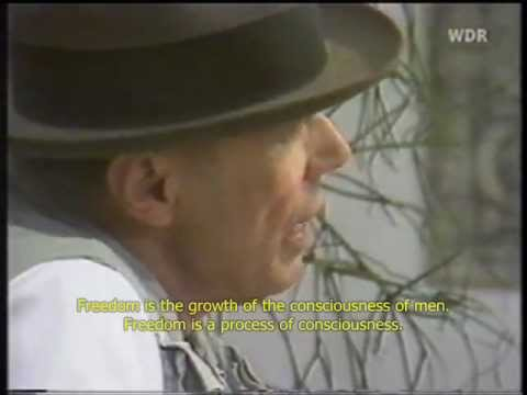 Joseph Beuys on Freedom
