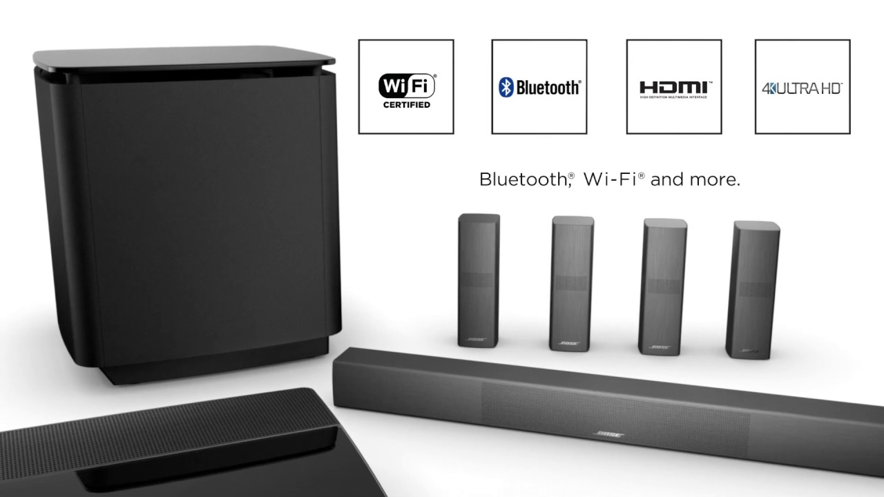 bose lifestyle 650 home entertainment system youtube. Black Bedroom Furniture Sets. Home Design Ideas