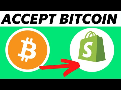How To Accept Bitcoin Payments On Shopify! (Easy)