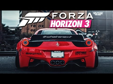Zagrajmy w Forza Horizon 3 #8 - BODY KITY! - Xbox One