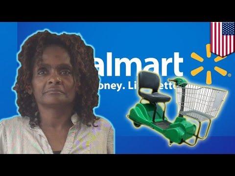 Motorized cart fail: Michigan woman jacks Walmart motorized wheelchair, busted by police