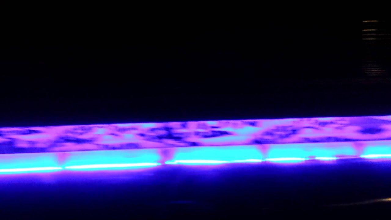 Pontoon Polished Led Lights Test Fit Under Rail Youtube