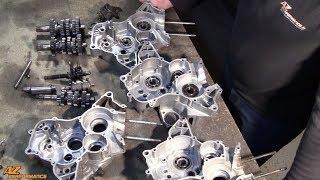 Tuto explicatif sur les différences entre les 2 types de carters moteur et de boites de vitesse AM6