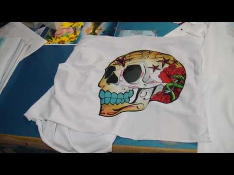 Personaliza tus camisetas con sharpie doovi for Camisetas hippies caseras