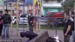 росийская полиция хуже фашистов не верите?  сами смотрите