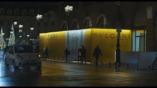Lucamaleonte for Bvlgari Paris Vendôme - A spark of Italia in the streets of Paris