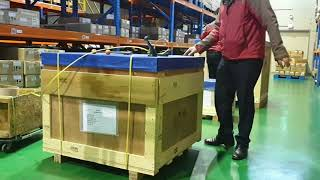 [수출운송] 해외운송건 픽업, 포장, 서류작성, 수출신…