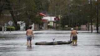 Après l'ouragan Florence, la côte est des États-Unis fait face à de graves inondations