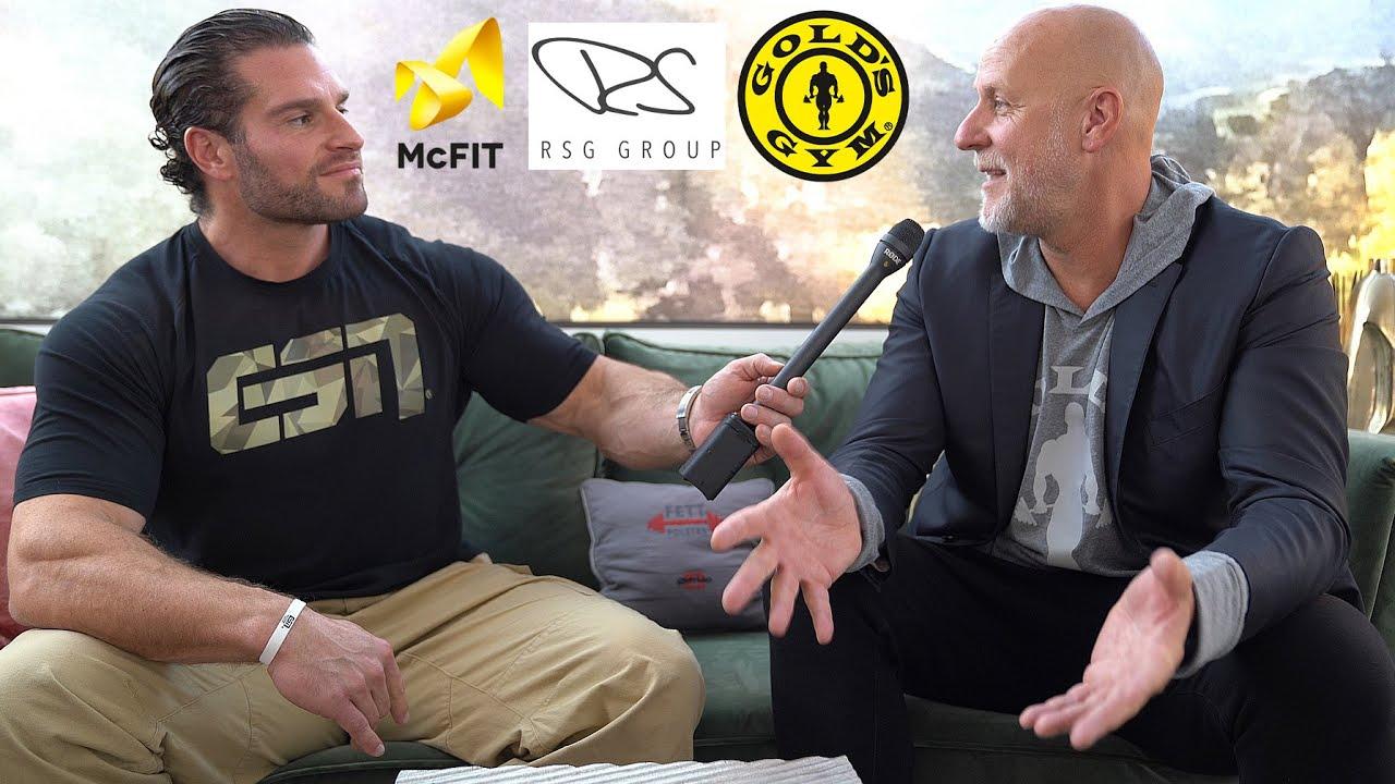 Der 100 Millionen Dollar Deal | Rainer Schaller im Gespräch | Golds Gym Übernahme, McFit, gym80