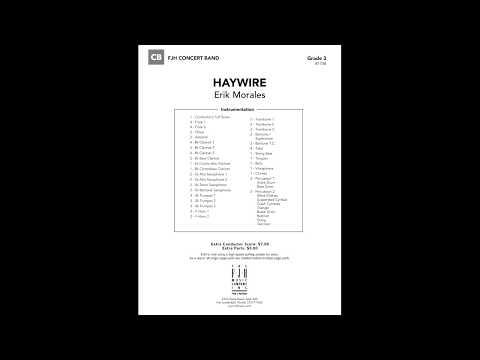 Haywire - Erik Morales