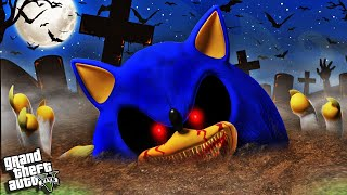 Bringing EVIL SONIC.EXE Back From The DEAD In GTA 5 (Mods)