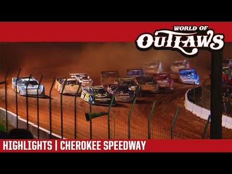 World of Outlaws Craftsman Late Models Cherokee Speedway May 4, 2018 | HIGHLIGHTS