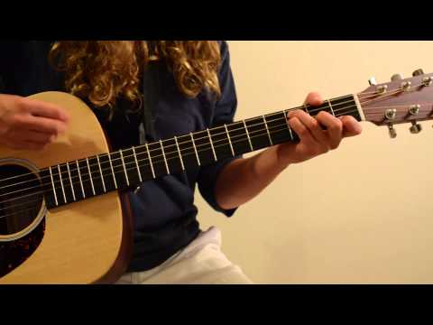 Little Do You Know - Alex and Sierra (Guitar Cover)