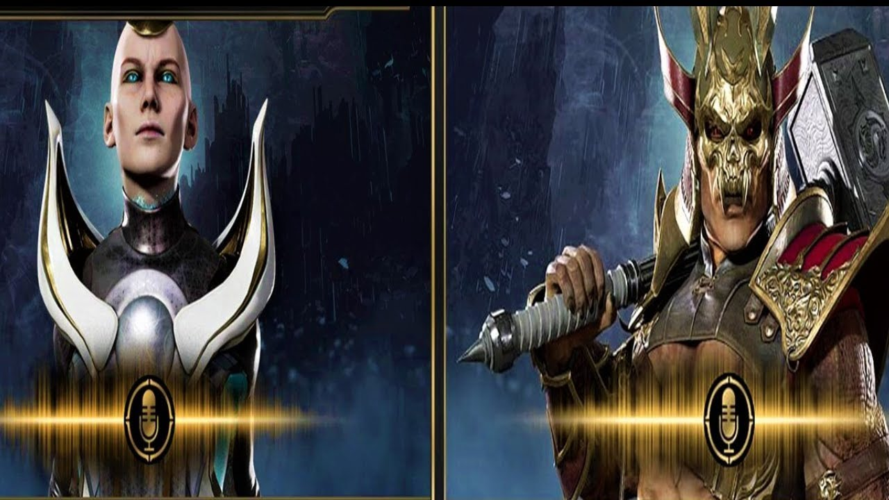 Download Kronika And Shao Kahn Announcers Voice Comparison In Mk11