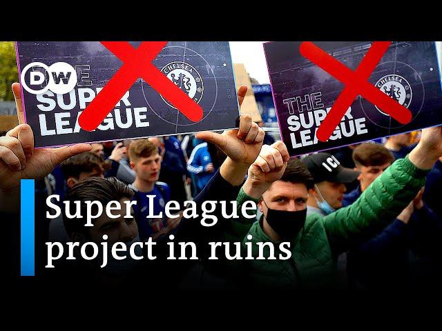 All six English clubs confirm plans to exit European Super League | DW News