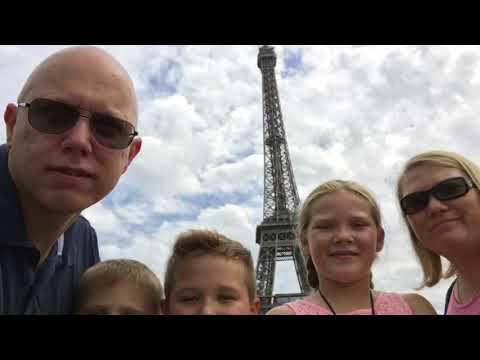 Visiting Paris. August 16, 2017