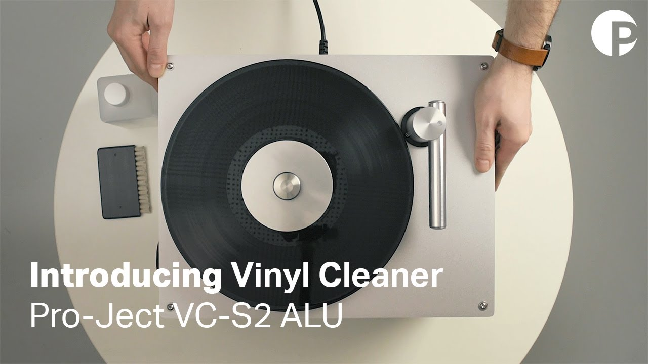 VC-S2 ALU Record Cleaner // Silver video thumbnail