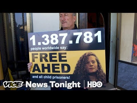 """Palestinian Teen """"Hero"""" Faces Trial For Slapping Soldier In Israel (HBO)"""