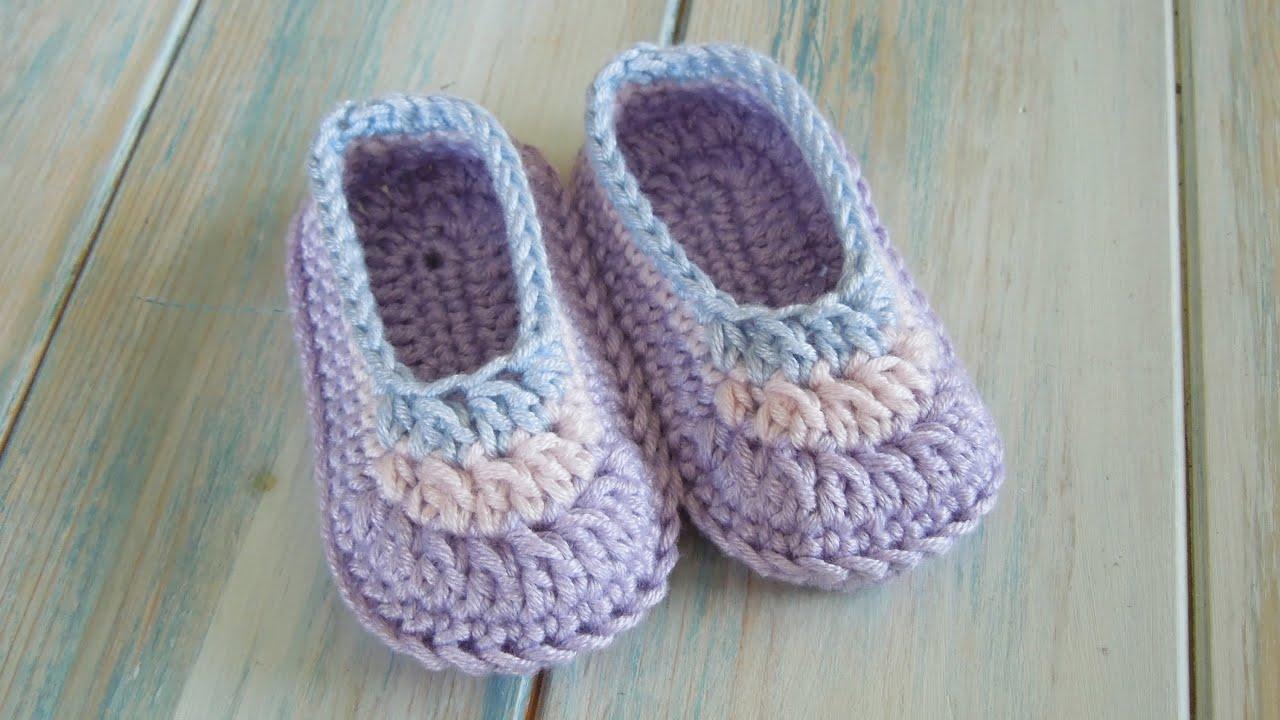 crochet) How To Crochet Simple Baby Booties - Yarn Scrap Friday ...