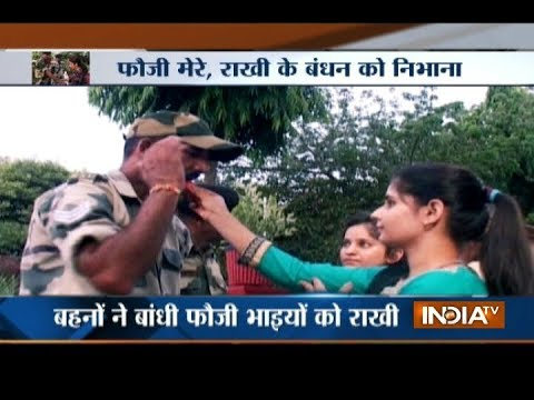 Watch: How Indian soldiers at border celebrated Raksha Bandhan