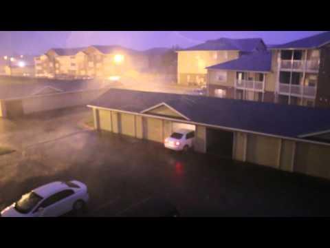 heavy Thunderstorm South Edmond, OK  26 April 2016