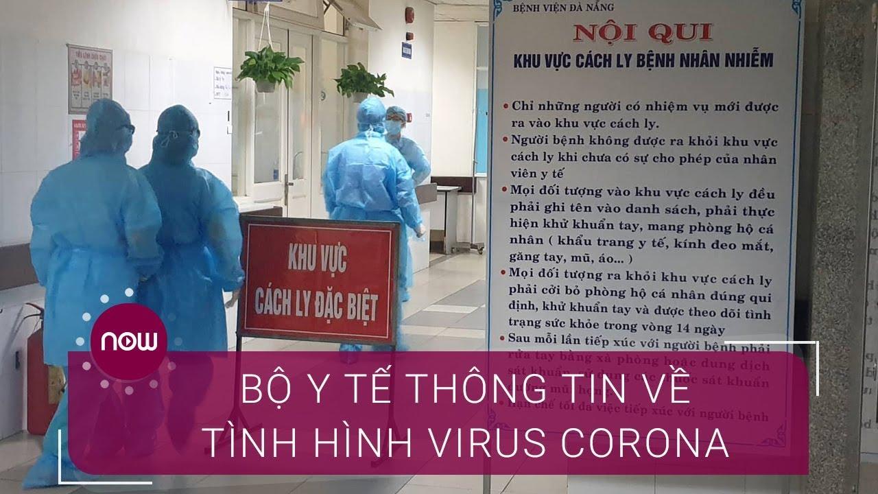 Bộ Y tế thông tin chính thức dịch nCoV    VTC Now