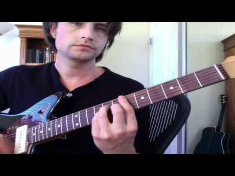 Guitar Lesson Sofa Song By The Kooks How To Play Tutorial Bar Chords Youtube