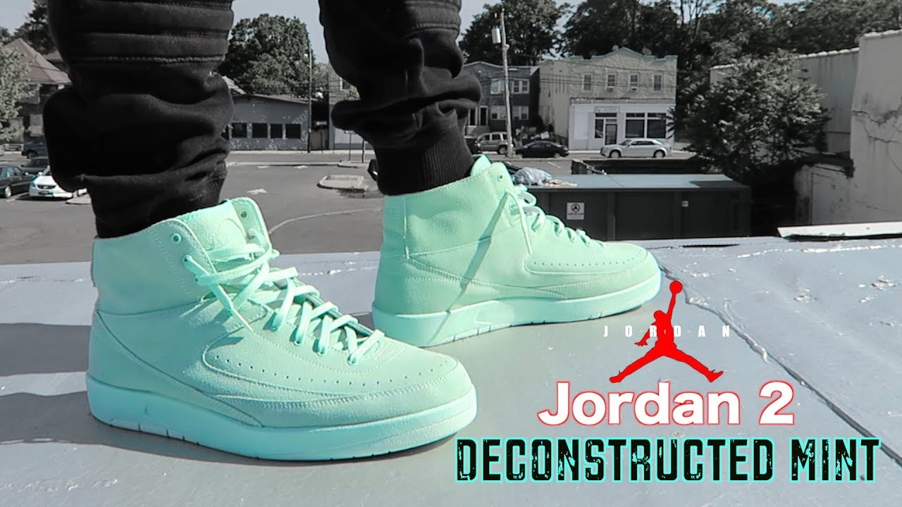 timeless design 7babc 710d9 Air JORDAN Retro 2 DECON Mint ON FEET Review!!!
