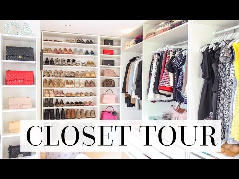 CLOSET/ DRESSING ROOM/ FILMING ROOM TOUR