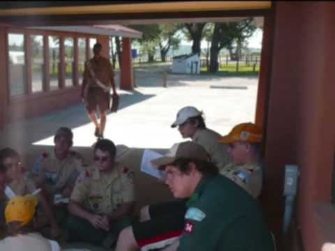 Philmont Scout Ranch; Check-in day