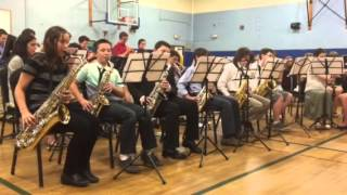 "Winston in JRMS Jazz Band ""Yeah, You Right"""