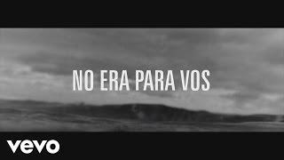 Los Fabulosos Cadillacs - No Era para Vos (Lyric Video)