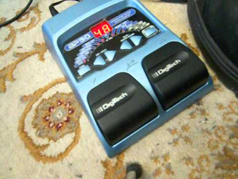digitech bp50 bass multi effects pedal demo tested with standard guitar youtube. Black Bedroom Furniture Sets. Home Design Ideas