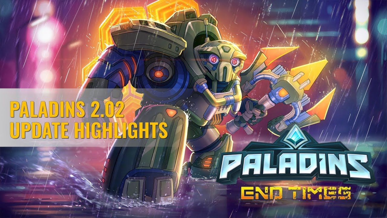 Paladins Version 2 2 3058 5 - Official Paladins Wiki