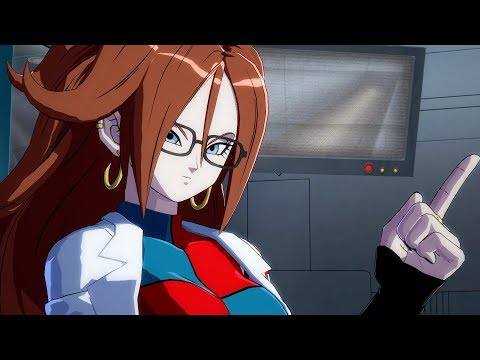 ANDROID 21 STORY MODE TEASER   Dragon Ball FighterZ OFFICIAL TGS 2017 Trailer