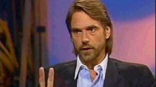 Jeremy Irons in 1987on trying to quit smoking