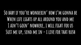 Brad Paisley - All In (Lyrics)