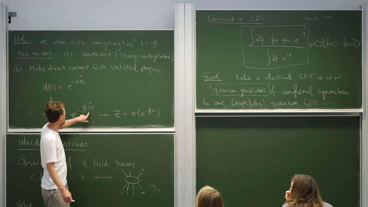 Introduction to conformal field theory, Lecture 6