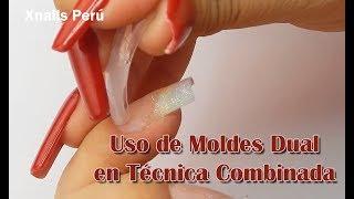 Uso de Moldes Dual en Técnicas Combinadas / Xnails Peru