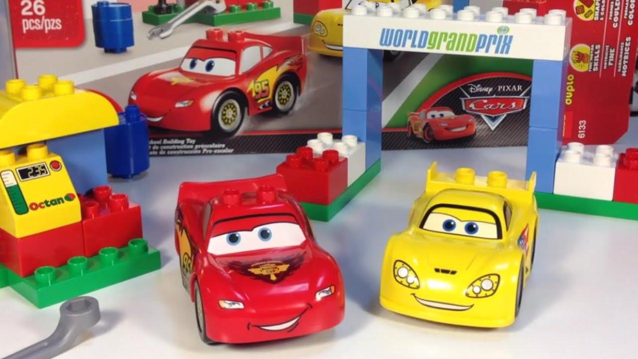 Cars  Lego Duplo Race Day Lightning Mcqueen