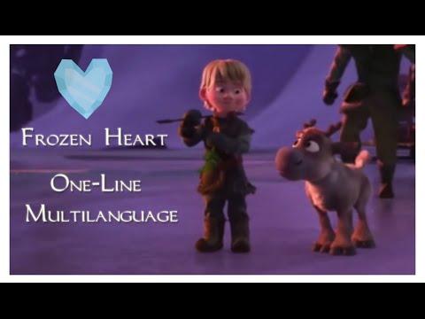 Frozen -  // FROZEN HEART // One-Line Multilanguage