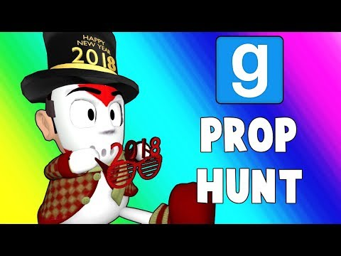 Gmod Prop Hunt Funny Moments - Secret Vending Machine Spot! (Garry's Mod)