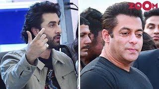 Ranbir Kapoor & Salman Khan Royally Ignore Each Other Once Again