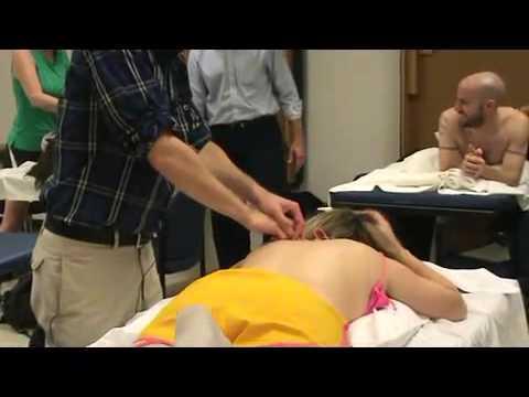 Massage technique vibration